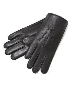 DENTS / デンツ : ディアスキン レザー グローブ(ラビットファー) / 全3色 : デンツ ペッカリー グローブ レザー 手袋 : 15-1544 【MUS】