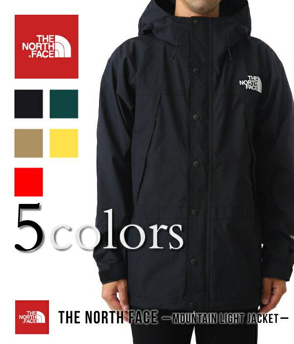 THE NORTH FACE / ノースフェイス ザ・ノースフェイス : Mountain Light Jacket / 全5色 : マウンテン ライト ジャケット マウンパ マウンテンジャケット 18AW 18秋冬 : NP11834 【WAX】【REA】