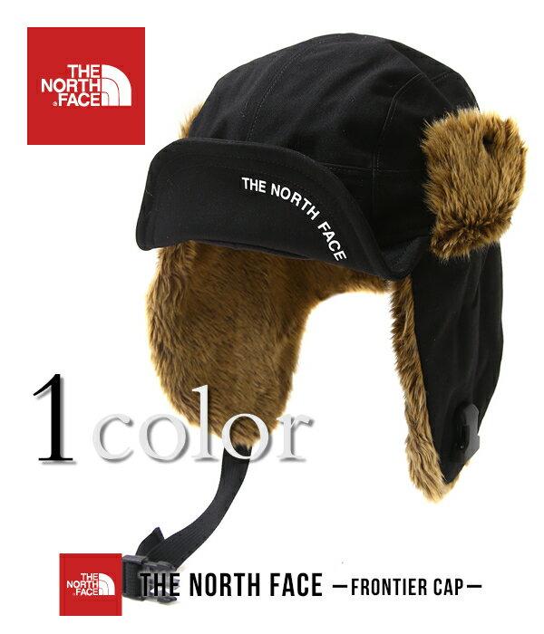 THE NORTH FACE / ザ ノースフェイス : Frontier Cap -ブラック2- : フロンティア キャップ 耳当て 18AW 18秋冬 : NN41708-KK 【WAX】【REA】【DEA】