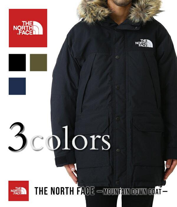 THE NORTH FACE / ノースフェイス メンズ ザ・ノースフェイス : マウンテン ダウン コート Mountain Down Coat / 全3色 : マウンテンダウンコート 新型 18AW 18秋冬 : ND91835 【WAX】【REA】