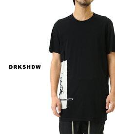 DRKSHDW / ダークシャドウ : LEVEL TEE : レベル ティー TEE リックオウエンス Rick Owens 19SS 19春夏 メンズ : DU19S4250-RNEP1 【WAX】