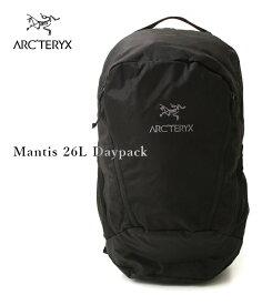 【国内正規品】 ARC'TERYX / アークテリクス : Mantis 26L Daypack -Black II- : マンティス26L バックパック ディパック リュック アウトドア 軽量 ハイキング モデル番号7715 : L06901500 【STD】【DEA】【REA】