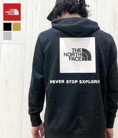 【国内正規品】THE NORTH FACE / ノースフェイス ザ・ノースフェイス : <春夏パイル仕様> バックスクエアロゴフーディ / Back Square Logo Hoodie / 全3色 : パーカ 20SS メンズ レディース : NT12034 【WAX】【REA】【DEA】