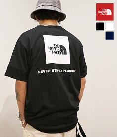 【宅急便コンパクト】【国内正規品】THE NORTH FACE / ザ ノースフェイス : S/S Back Square Logo Tee : バック スクエア ロゴ Tee ショートスリーブ : NT32144 【REA】