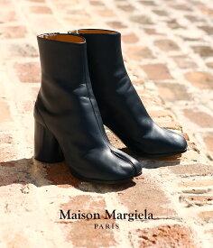 Maison Margiela / メゾン マルジェラ : 【レディース】TABI BOOTS(22cm〜25cm) : タビブーツ ショートレザーブーツ ブーティー 革靴 ウーマン : S58WU0161 【ANN】