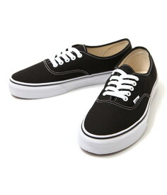 VANS CLASSICS / バンズ クラシック : 【メンズ/レディース】AUTHENTIC-BLACK(23cm〜29cm) : VANS バンズ ヴァンズ オーセンティック 定番 靴 スニーカー シューズ : VN-0EE3BLK【PIE】【DEA】【REA】