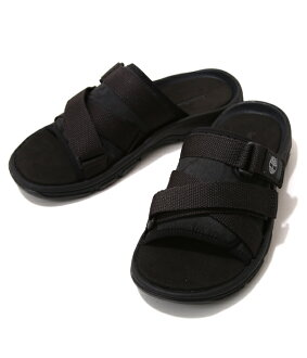 Timberland [Timberland] /ROSLINDALE Slide (Black Jacquard) (Timberland sandals) A1226