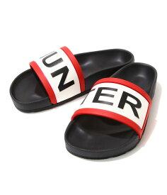 HUNTER / ハンター : 【レディース】WOMENS ORIGINAL HUNTER SLIDE-BLACK- : ハンター スライド サンダル シューズ 靴 レディース ウーマン : WFD4016EVA-BLK【DEA】