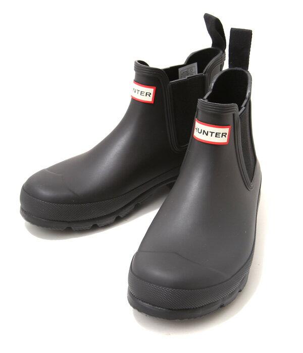 HUNTER [ハンター] / ORIGINAL DARK SOLE CHELSEA / 全2色(長靴 レインブーツ シューズ) MFS9021RBS【PIE】