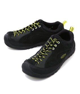 KEEN [Kean] / Jasper Rocks -Black/Neon Yellow- (jasper locks sandal) 1015665