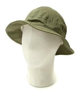 orSlow/或低下: US ARMY HAT -GREEN/WHITE EYELET- : US陸軍帽子粗斜紋布帽子: 03-001-16A
