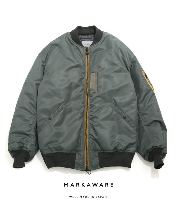 【SPECIAL PRICE!】MARKAWARE / マーカウェア : MA-1 BIG - ARKnets exclusive - : エムエーワンビッグ マーカウェア MA-1 別注 : A17F-24BL03C【MUS】【WIS】
