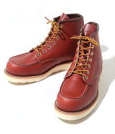 終了間際!!【P10倍】RED WING / レッドウィング : CLASSIC MOC : ブーツ6インチブーツ ワークブーツ : 8875【STD】【REA】