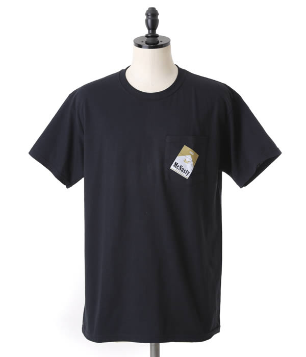 【SALE/セール】MARK MCNAIRY(マークマクナイリー マークマクネイリー) / MCNASTY POCKET(Tシャツ)mm14s-TS11【WAX】