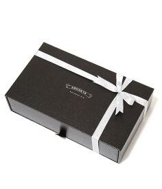 GIFT BOX / ギフトボックス : 【ウォレット、ベルトをはじめとした小物類に最適】ギフトボックスMサイズ(W22cm×H5.5cm×D13cm) : ギフト ギフトボックス ラッピング プレゼント : GIFTBOX-M 【DEA】