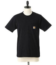 Carhartt WIP / カーハート ダブリューアイピー : S/S POCKET T-SHIRT : カーハート 定番 半袖 Tシャツ ポケット ティーシャツ カットソー Carhartt WIP ワークインプログレス : I001304-15s【NOA】