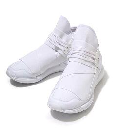 Y-3(ワイスリー)/Y-3Qasahigh(ALLWHITE)(ワイスリーカーサハイスニーカーシューズ靴YOHJIYAMAMOTOadidasオールホワイト)AQ5500【WAX】