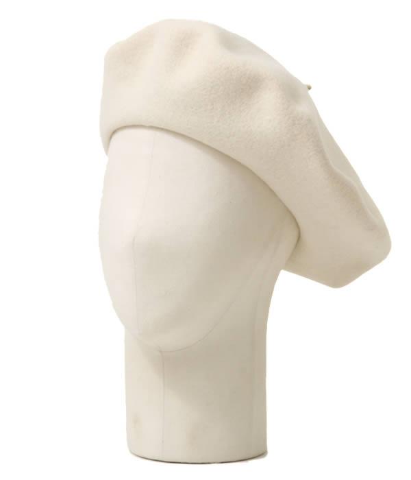 BUENA VISTA / ブエナビスタ : Basque Beret (13.5) ホワイト / (バスク ベレー ベレー帽 帽子 バスクハット) TDB-06【ARK】【WIS】