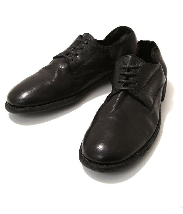 【スマホエントリーP10倍!】GUIDI (グイディ ) / LOWLACE SHOES- ベイビーカーフ - (ローレースシューズ レザーシューズ 革靴 短靴) 992T-calfblk-4a【RIP】【BJB】
