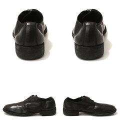 【レビューを書いて1万円当たる】GUIDI(グイディ)LOWLACESHOES-ベイビーカーフ-(ローレースシューズレザーシューズ革靴短靴)992T-calfblk-4a【RIP】