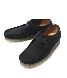 【サマーキャンペーン!】Clarks / クラークス : WALLABEE -BLK SUEDE- : ワラビー ブーツ レザー シューズ 靴 クラークス : 26103948【STD】
