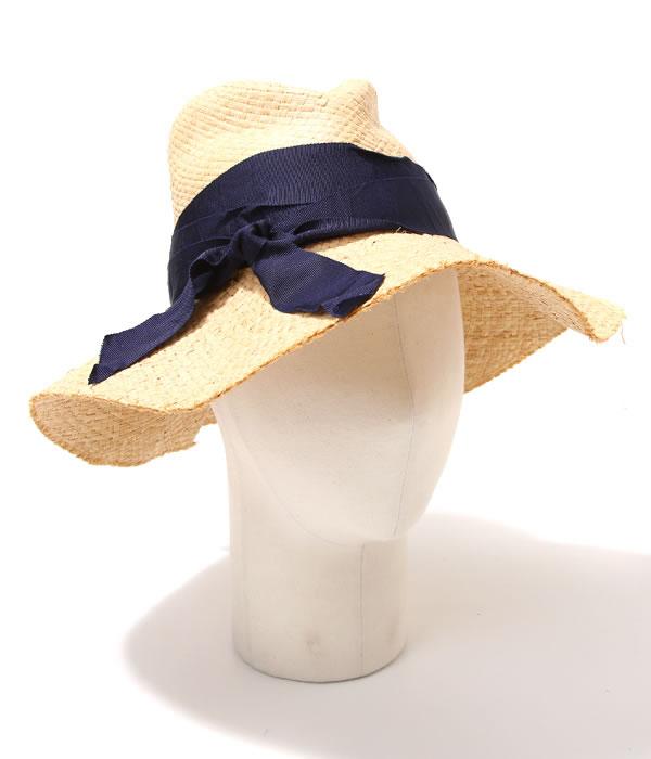 Lola HATS [ローラハッツ] / Classic First Aid-Natural/Navy- (クラシック ファースト エイド ハット ストローハット 帽子 麦わら帽) 8105-NAT-NAV【ANN】