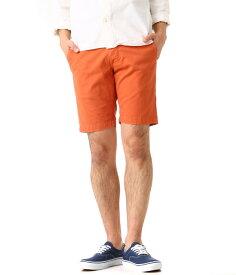 【SPECIAL PRICE!】GROWN&SEWN / グロウン&ソーン : 3 Signature Twill Short : チノパン チノショーツ パンツ メンズ ショートパンツ : Independent-Slim-SP-2 【STD】