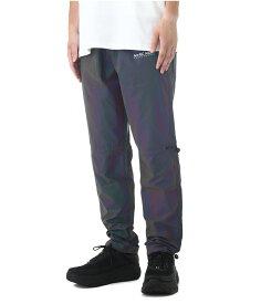 M+RC NOIR / マルシェノア : RAINBOW REFLECTIVE TRACK PANT : 19SS 19SS ゴーストブラックレインボウエラスティックパンツ レインボウ ロングパンツ メンズ : 36001 【WAX】