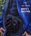 【国内正規品】ARC'TERYX / アークテリクス : Mantis 2 Waistpack -ブラック : マンティス2 ウエストバック Maka 2 マ…