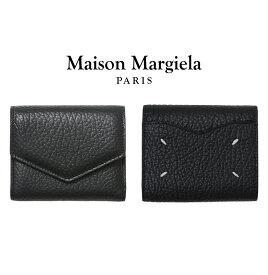 Maison Margiela / メゾン マルジェラ : LEATHER WALLET / 全3色 : レザーウォレット レザーサイフ 三つ折り 革財布 ミニウォレット メンズ レディース : S56UI0136【RIP】【BJB】【ANN】