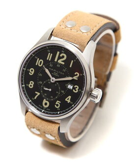 HAMILTON (Hamilton) khaki officer automatic (clock watch Watch) H70655733