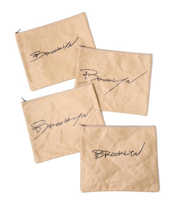 【SALE/セール】TALKING ABOUT THE ABSTRACTION (トーキング アバウト ジ アブストラクション) / Paper Clutch Bag(ペーパー クラッチ バッグ カバン)MT-B-043A【STD】