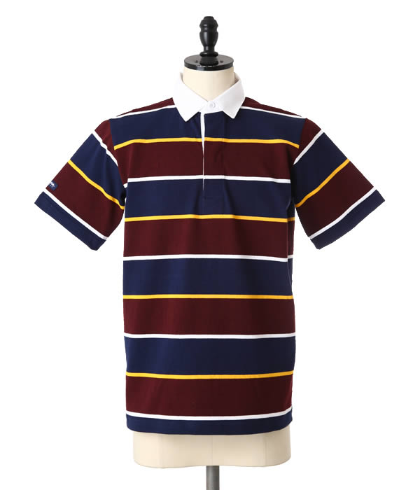BARBARIAN / バーバリアン : GCSS S/S NSS : ラガー シャツ 半袖 : 1533601-NSS-10 【STD】
