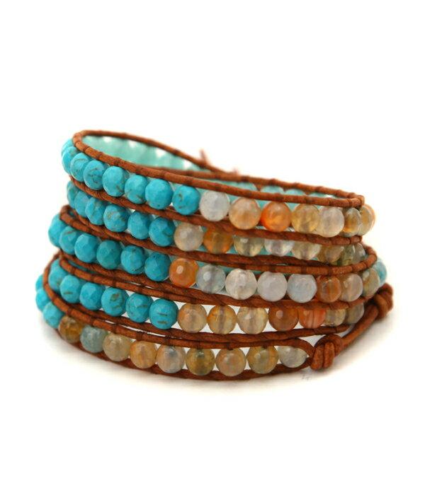【期間限定送料無料!】【SALE/セール】CHAN LUU / チャンルー : MIX 5 Wrap Bracelet : ブレスレット : BS-1810-MIX 【PIE】