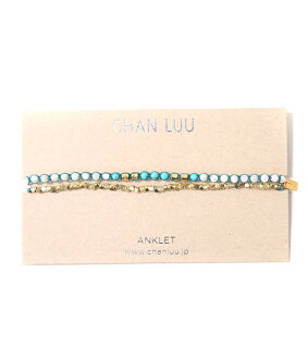 CHAN LUU (Changle) / AKGZ-1071CLJ AKGZ-1071CLJ/1 Wrap anklet (Changle anklets accessories gift Pier ACC)
