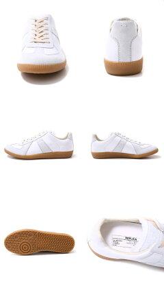 【期間限定!ポイント2倍】MaisonMargiela(メゾンマルジェラ)/LEATHERSNEAKER(レザースニーカー靴シューズ)S57WS0083【BJB】