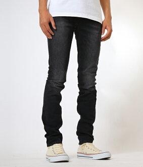 Nudie Jeans [Nudie jeans] / Thin Finn - Black Fall-(Nudie jeans sinfin denim jeans) 44161-1107-bjb