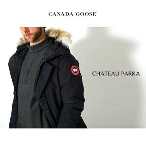 CANADAGOOSE/カナダグース:CHATEAUPARKA/全5色:カナダグースメンズシャトーダウンジャケットヘビーアウターダウン:3426MA-SZ