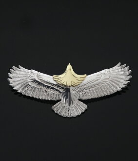 WINGROCK(翅膀锁头)Eagle Pendant top Ruby-M(项链最高层垂饰)EPR-M