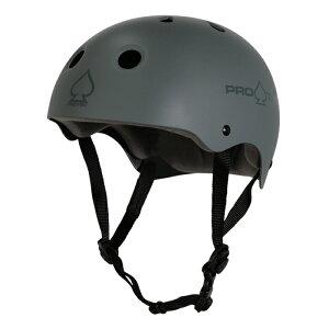 【スケボー/スケートボード/プロテクター/防具】PROTEC(プロテック) CLASSIC SKATE MATT GREY HELMET ヘルメット マットブルー つや消し 青 BMX