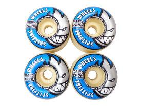 【スケボー/スケートボード/パーツ】SPITFIRE(スピットファイヤー)/ウィール/FOURMULA FOUR RADIALS SHAPE 99D WHITE 54mm