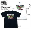 【ロリクレ】ROLLING CRADLE(ローリングクレイドル) ×THRASHER/コラボTシャツ/-Go! Go! Go!-