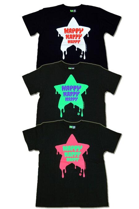 【MxMXM】MAGICALMOSHMISFITS(マジカルモッシュミスフィッツ)/HAPPYMOSHMISFITSTEE/半袖Tシャツ