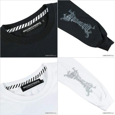 【ロリクレ】ROLLINGCRADLE(ローリングクレイドル)/GEGEGENOBACKBEARDLONGT-SHIRT/長袖Tシャツ