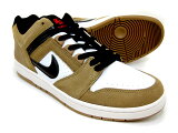NIKESBAIRFORCEIILOW/AO0300-300[lichenbrown×black-white]/ナイキSB