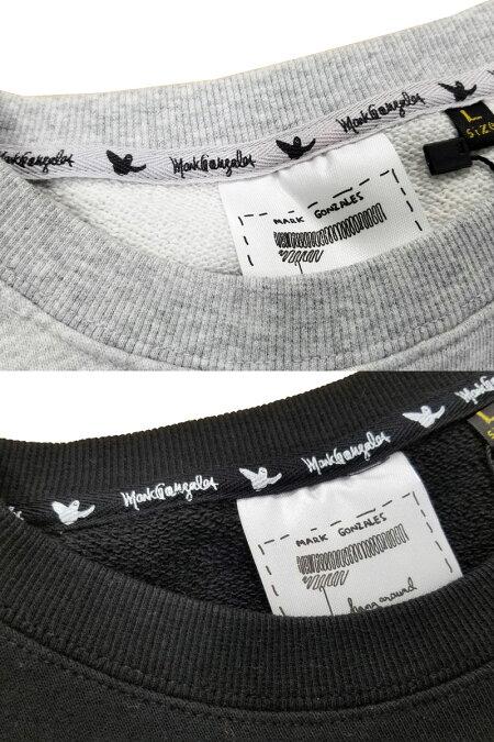 【SALE】MARKGONZALES(マーク・ゴンザレス)/サガラ刺繍ロゴトレーナー