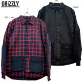 【SALE】GRIZZLYGRIPTAPE(グリズリー・グリップテープ)/HABITATSHIRTJACKET/中綿入りシャツジャケット