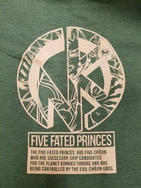 【キン肉マン】運命の五王子Tシャツ/MARS16×キン肉マン/マーズ16