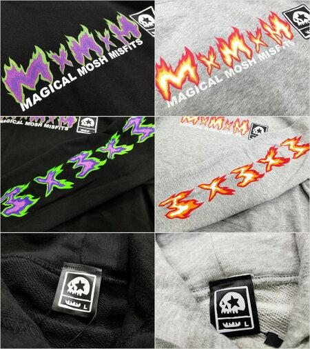 【MxMXM】MAGICALMOSHMISFITS(マジカルモッシュミスフィッツ)/MAGICALFIREMISFITSPARKA/プルオーバーパーカー