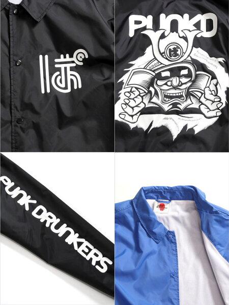 【予約】PUNKDRUNKERS(パンクドランカーズ)/侍コーチJKT/2018年9月中旬〜下旬入荷予定